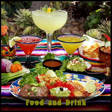 Food and Drink Img and Button
