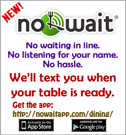 advertisiment for NoWait service
